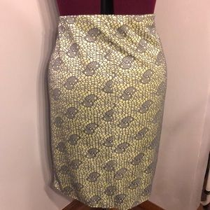Mossimo Supply Co. Skirts - !!!NEW!!! Flirty green & gray below the knee skirt